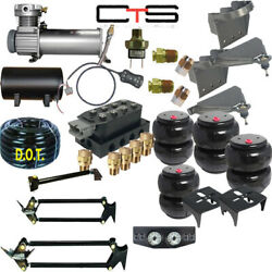 B Air Suspension -complete 01-10 Gm Hd Truck 3-gal Tank 2wd/4wd
