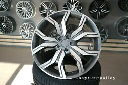 New 22 Inch 5x120 Silver Wheels For Land Rover Discovery Defender Range Sport