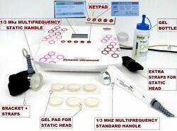 Ultrasonic 1/3 Mhz Multi Frequency Static Therapy Handsfree Ultrasound Optional