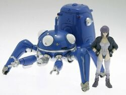 Ghost In The Shell S.a.c. Wave 124 Scale Pvc Action Figure Tachikoma With Motoko