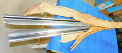 1971 1972 1973 Mustang Fastback Coupe Convertible Nos L+r Rocker Panel Mouldings