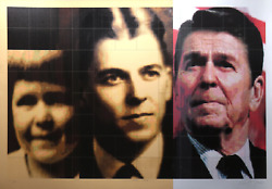 Carlos Irizarry, President Ronald Reagan, Screenprint, Signed, Titled And Number