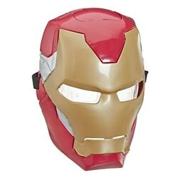 Avengers Endgame Iron Man Flip FX Mask With Activating Light Effects