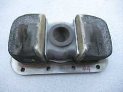 Porsche 356 S 90 Oil Sump Screen With Magnet And Intermediate Plate  44