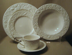 Mikasa English Countryside Lot Of 2 - 5 Piece Place Settings 10 Pcs Excellent