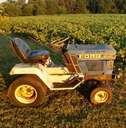 Ford Lgt14d Diesel Lawn Mower / Tractor Selling Parts