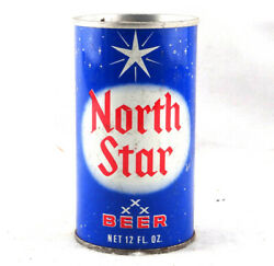 North Star Beer Can Cold Spring Brewing Co. Steel Top Opened Free Shipping