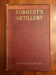 Rare 1909 Artillery Of Nathan Bedford Forrest's Cavalry, Confederate Civil War
