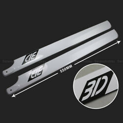 550mm Carbon Fiber Main Rotor Blade For Align 550 And Raptor 30 Helicopter