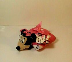 Disney Minnie Mouse Mini Pillow Pets Plush 6quot; NEW