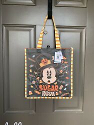 Disney Mickey Mouse Halloween Reusable Tote Bag New Fast Shipping