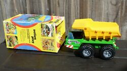 Vintage Ms Toy Germany Ms5786 Plastic Tipper Truck Construction Lorry Toy Rare