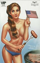 Zenescope Comics Robyn Hood The Curse 6 Vip 4th Of July Variant Exclusive Nm