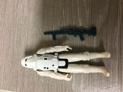 Vintage Star Wars figure 1980 imperial snow trooper complete with original weapo $17.99