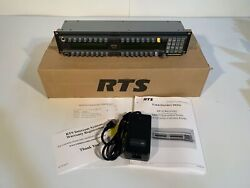 One New Rts Telex Kp32 Black Keypanel W/ Rear Connector Upgrade Monaural 4-pin