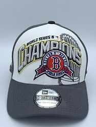 2013 Boston Red Sox 39thirty World Series Champions Official On The Field Hat
