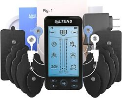 Tens Unit Machine Device 24 Massage Modes Muscle Stimulator Comes With 20 Pads