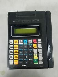 Hypercom Vital Credit Card Terminal And Card Reader T7plus Rre01 As Is