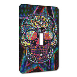 Elements Of Space Sugar Skull Fraxel Star Metal Wall Plate Switch Ac Decora