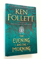 The Evening and the Morning Ken Follett Like New HC 1st 1st $15.00