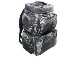 Evolution Fishing Large Mouth Double Decker Mossy Oak Tackle Backpack - 3600