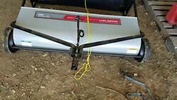 Ohio Steel Lawn Sweeper 50 Extra Wide Tow Behind Tractor Mower Atv Attachment