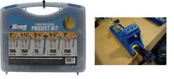 Kreg Jig K4 Pocket Hole System And Pocket-hole Screw Project Kit In 5 Sizes New