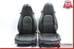 97-04 Porsche Boxster 986 Carrera 996 Front Complete Seat Cushion Assembly Set