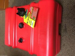 New Moeller A/d 12-gallon High Profile Portable Boat Fuel Tank With Gauge Marine