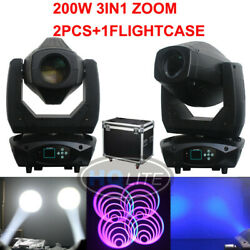 200w Led Beam Spot Wash 3 In 1 Moving Head Light Linear Zoom Dj Lighting Stage
