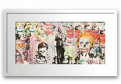 Mr. Brainwash- Original Offset Lithograph On Paper Love Is The Answer
