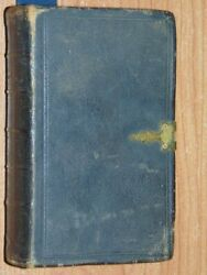 The Holy Bible Containing Old And New Testaments 1849 Good Cond Leather Bound