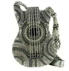 MARY FRANCES quot;ON TOURquot; GUITAR SILVER BAG NEW W. TAGS $270.00