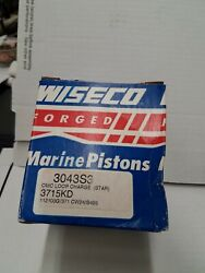 3043s3 Wiseco .030 Starboard For V6 Omc Loop Charged 3.715 Bore Free Frt