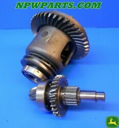 John Deere 755, 855 Differential Assembly With Ring And Pinion Am875157