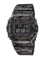 Casio G-shock Gmwb5000 Gmw-b5000 The All New Titanium Camouflage Japan Made