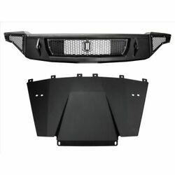 Icon Vehicle Dynamics 95153 Front Impact Bumper With Skid For 2017-up Raptor New
