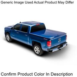 Undercover Uc2126l-z1 Lux Truck Bed Cover With Tailgate Step - Oxford White New