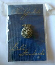 Future Farmers Of America Ffa Agriculture Lapel Tie Tack Pin New Blue Jacket