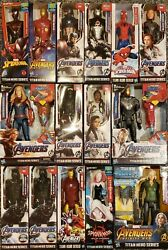 Marvel Avengers Titan Hero Series 12 Inch Action Figures Kids Toy Gift Super