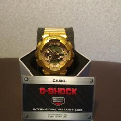 Casio G-shock Violette Collaboration All Gold Limited Rare Used