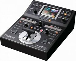 Used Roland V-4ex Four Channel Digital Video Mixer With Effects V4ex V-4 Ex 632