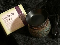 Scentsy Electric Wax Warmer 2 Color Choices ONE ONLY
