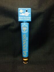 """Guinness Ceramic """"over The Moon Pale Milk Stout"""" 12"""" New Beer Tap Handle."""