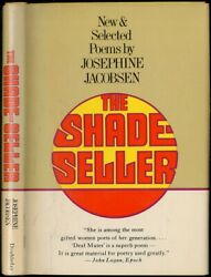 Josephine Jacobsen / The Shade-seller New And Selected Poems Signed 1st Ed 1974