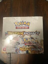 Pokemon Booster Box Xy Breakpoint 10 Card Packs 36 Packs Per Box Sealed
