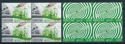 [i966] Faroe 2016 Ecology Good Set In Bloc Of 4 Stamps Very Fine Mnh