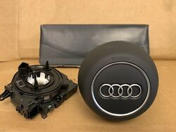 2019 Audi A3 Drive Wheel And Drive Knee Airbag And Clock Spring
