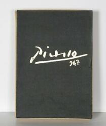 Pablo Picasso Picasso 347 Series Vol. I And Ii Book