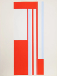 Ilya Bolotowsky Series 1 Screenprint Signed And Numbered In Pencil